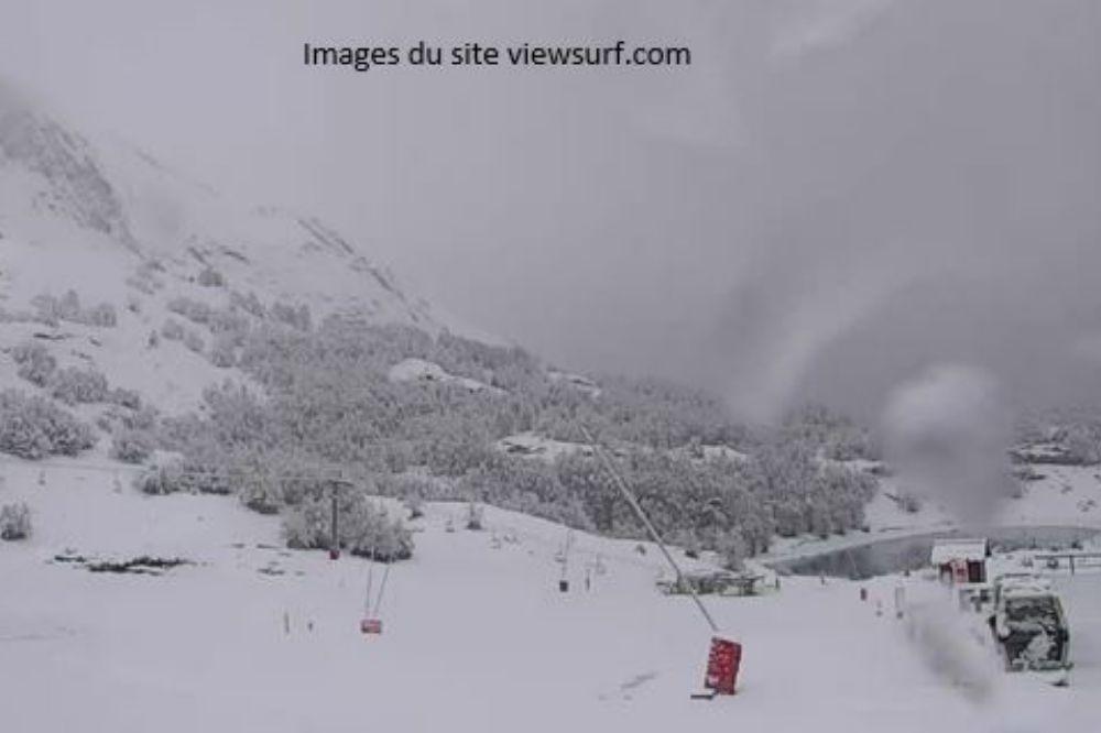 Voici les premières chutes de neige